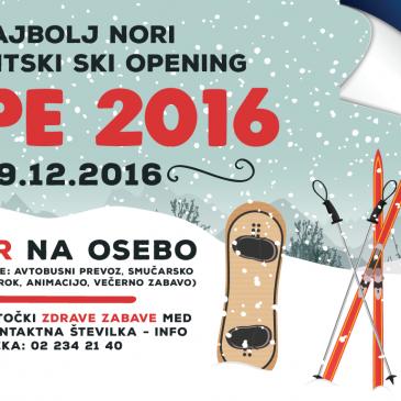 Študentski ski opening – Kope, 19.12.