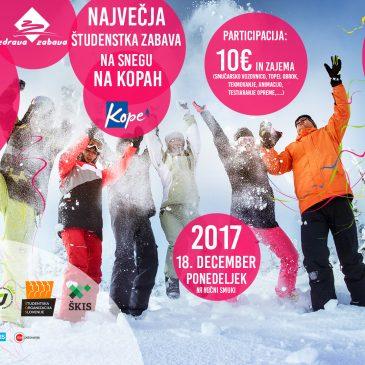 Zimski festival študentskega športa