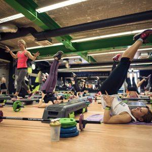 Cenik rekreacije in skupinske telovadbe