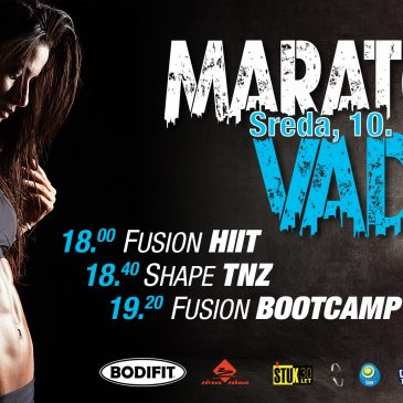 Brezplačni maraton vadbe