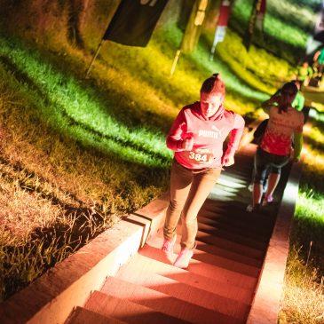 Nočni tek po stopnicah na Kalvarijo