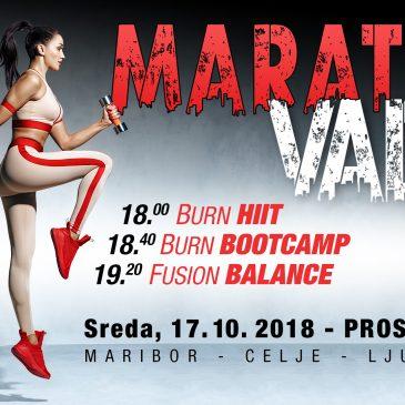 Brezplačni maraton vadbe na Štuku