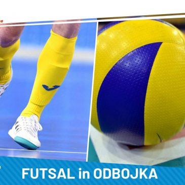 Državno univerzitetno prvenstvo v futsalu in odbojki