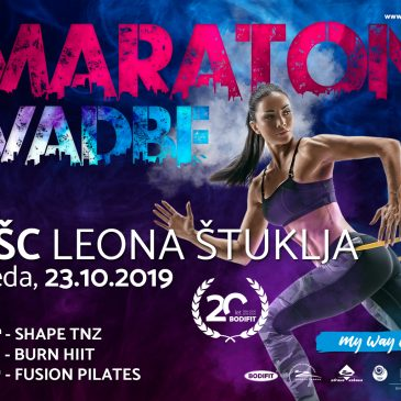 BREZPLAČNI maraton vadbe na UŠC