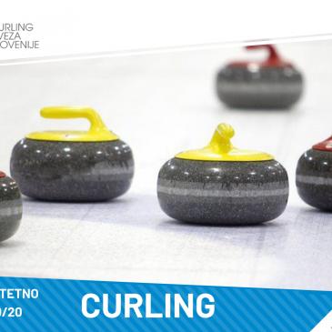 DUP v curlingu za študijsko leto 2019/20