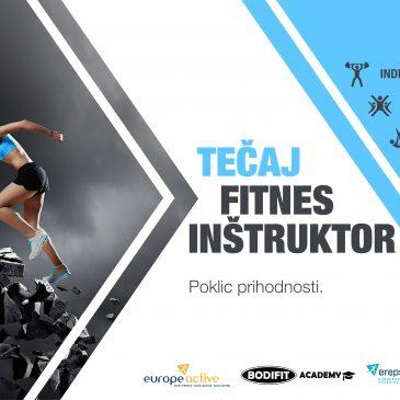 Uresniči svoje sanje in postani fitnes inštruktor!